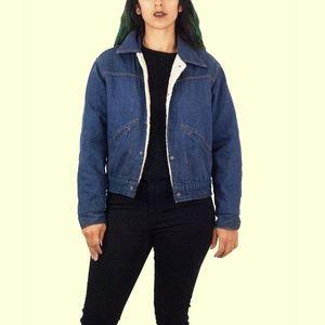 70s Denim Lined Jacket XS-L